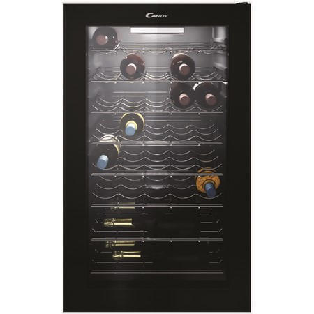 Candy CWC150UK 40 Bottle Wine Cooler - Black