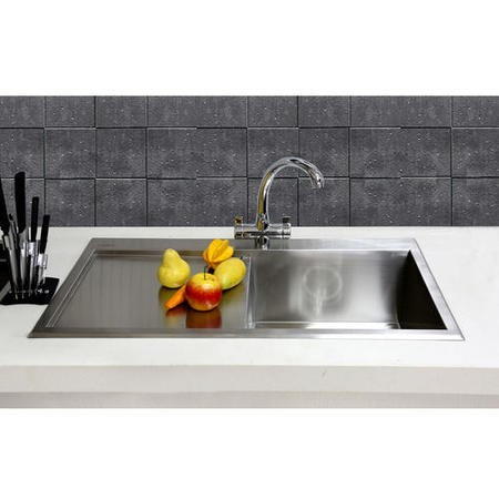Taylor & Moore Single Bowl Stainless Steel Kitchen Sink