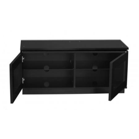 MMT Diamond D1120 Black TV Cabinet - Up to 50 Inch