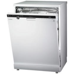 LG D1484WF TrueSteam Direct Drive 14 Place Freestanding Dishwasher White