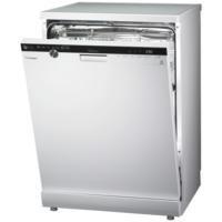 LG D1484WF TrueSteam Direct Drive 14 Place Freestanding Dishwasher White