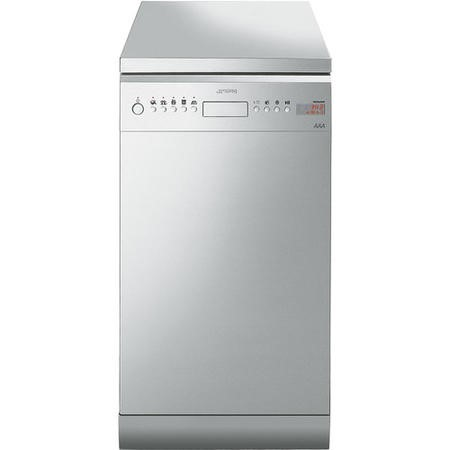 Smeg D4SS-1 10 Place Slimline Freestanding Dishwasher- Stainless Steel