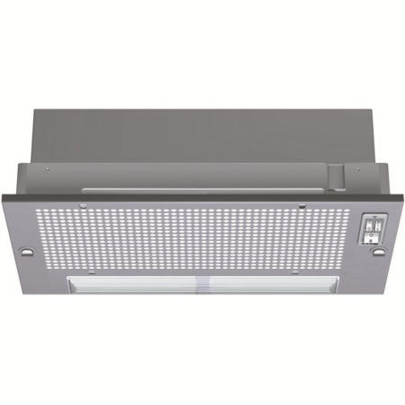 Neff D5625X0GB 53cm Wide Canopy Cooker Hood - Silver Grey Metallic