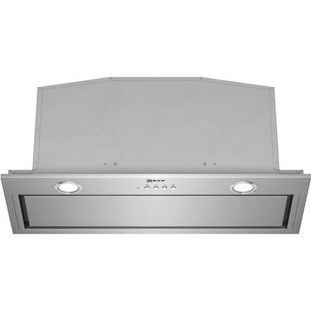 NEFF D57MH56N0B 70cm Wide Canopy Cooker Hood Stainless Steel