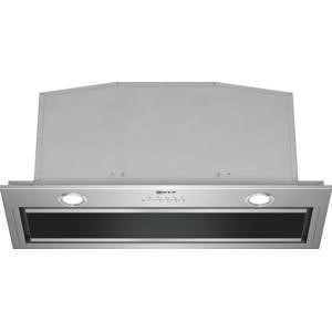NEFF D57ML67N0B 70cm Wide Canopy Cooker Hood Stainless Steel