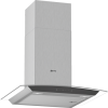 Neff D64AFM1N0B 60cm Touch Control Chimney Cooker Hood With Curved Glass Canopy - Stainless Steel
