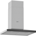 Neff D64QFM1N0B N50 60cm Low Profile Chimney Cooker Hood - Stainless Steel