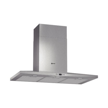 Neff D69SH52N0B Low Profile 90cm Stainless Steel Chimney Cooker Hood