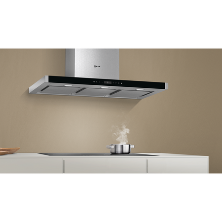 NEFF D79MT86N1B N90 90cm Chimney Cooker Hood - Stainless Steel