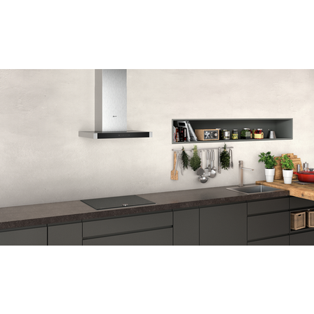 Neff D64BHM1N0B N50 60cm Touch Control Box Design Cooker Hood - Stainless Steel