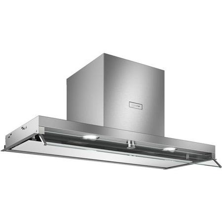 Neff D94XAF8N0B N70 Rotary Control 90cm Integrated Canopy Hood With Glass Visor - Stainless Steel &
