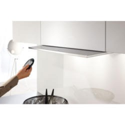 Miele DA3690 Stainless Steel 90cm Wide Motorised Telescopic Canopy Cooker Hood