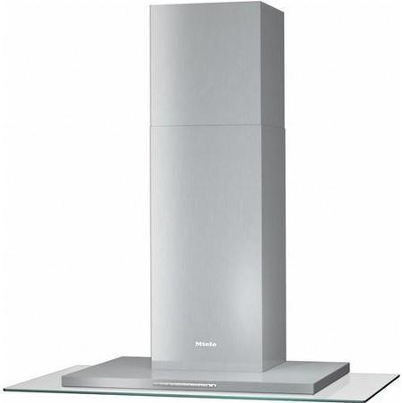Miele DA5796W 90cm Stainless Steel Cooker Hood With Glass Canopy