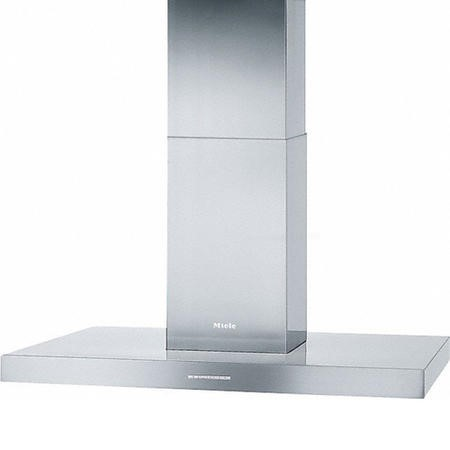 Miele DAPUR98D 90cm Island Cooker Hood With LED Lighting Stainless Steel
