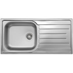 Reginox DAYTONA10 1.0 Bowl Reversible Stainless Steel Sink