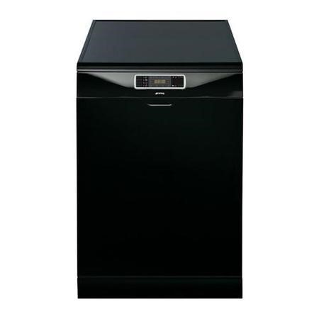 Smeg DC134LB 14 Place Freestanding Dishwasher With FlexiDuo Baskets - Black