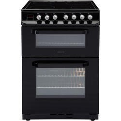 Servis DC60B 60cm Double Oven Electric Cooker Black
