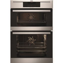 AEG DC7013021M Competence Electric Built-in Double Oven Stainless Steel