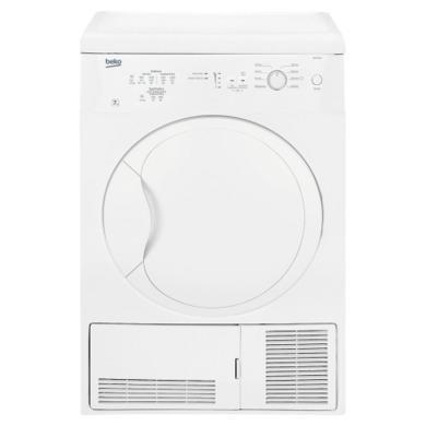 Beko DC7112W 7kg Freestanding Condenser Tumble Dryer White