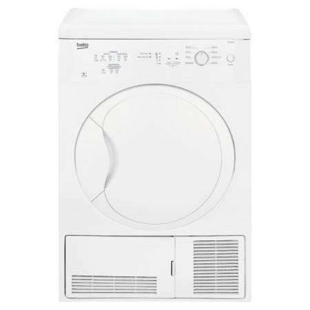 Beko DC7112W 7kg Freestanding Condenser Tumble Dryer White