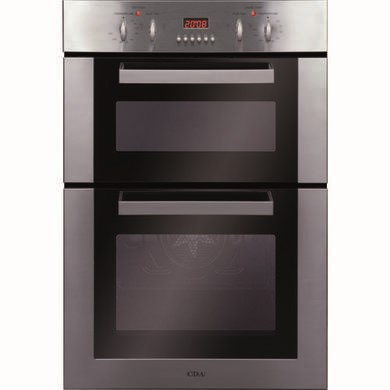 CDA DC930SS Electric Built In Double Oven in Stainless steel