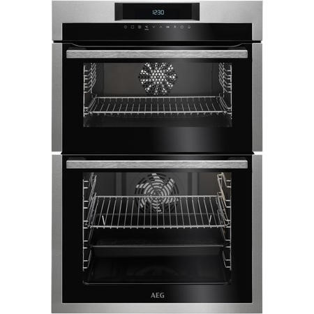 Aeg Dce731110m Touch Control Electric Built In Double Oven