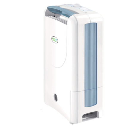 Ecoair DD122FW SIMPLE 7L Desiccant Dehumidifier with Rotary Humidistat up to 4 bed house 2 year warranty