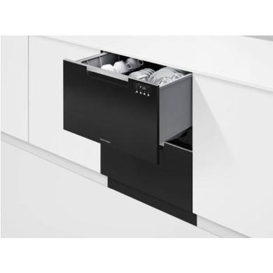 Fisher & Paykel DD60DAHB9 12 Place Semi-Integrated Double DishDrawer Dishwasher-Black