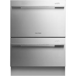 Fisher & Paykel DD60DDFHX7 89474 Integrated Double Dishdrawer With EZKleen Stainless Steel Door