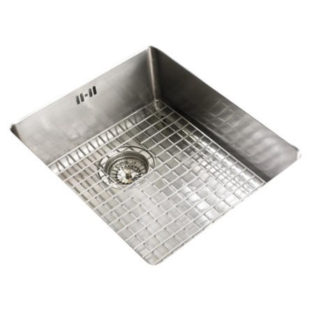 Astracast DE15XBHOMEPKL Bistro 1.5 Bowl Left Hand Drainer Stainless Steel Sink with Accessories