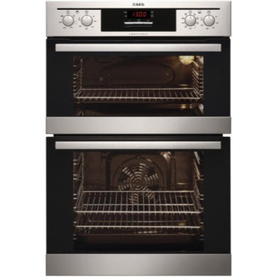 DE401301DM AEG DE401301DM Electric Built-in Fan Double Oven Stainless Steel