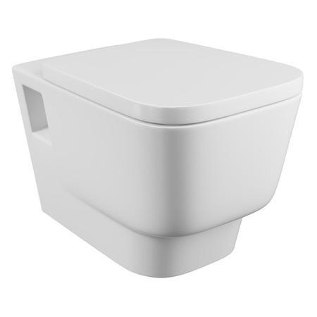 Step Wall Hung Toilet with Soft Close Seat