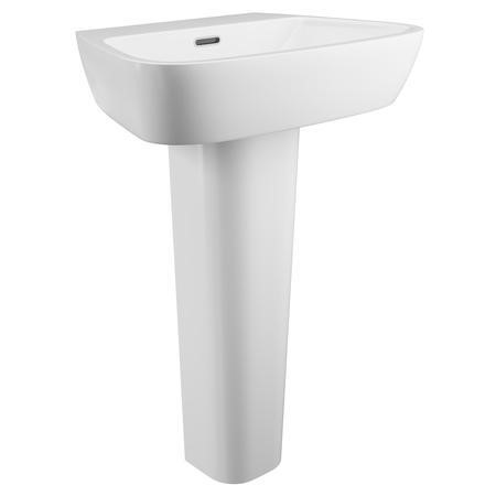 Step Pedestal Sink - 1 Tap Hole