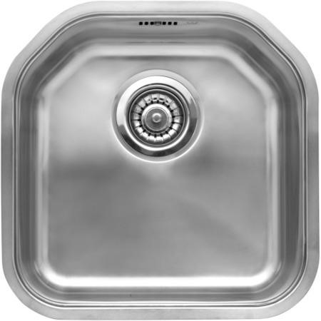 Reginox DENVER-L 1.0 Bowl Integrated Stainless Steel Sink With Chamfered Rear Edges