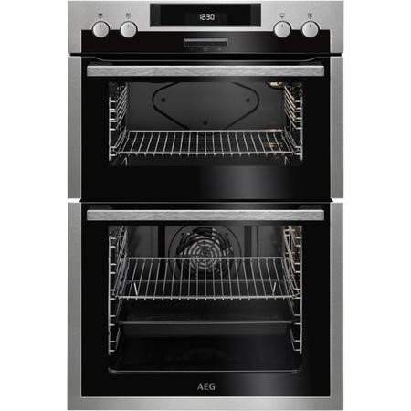 AEG DES431010M Multifunction Electric Built in Double Oven