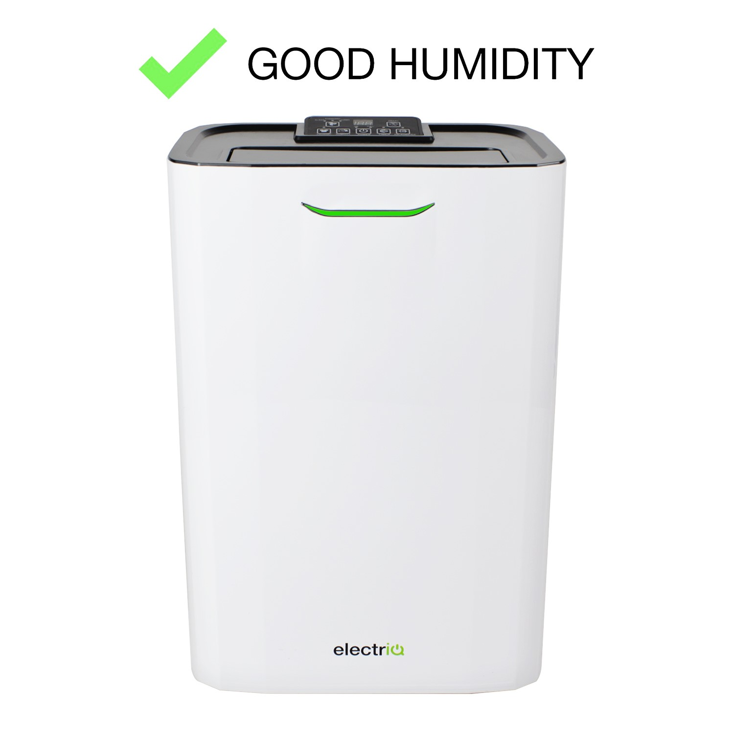 Electriq 8 Litre Fast Dry Desiccant Dehumidifier With Air