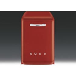 Smeg DF6FABR2 Fifties Style 13 place Freestanding Dishwasher - Red