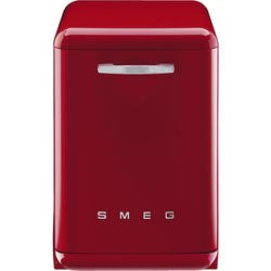 Smeg DF6FABRD Fifties Style 13 place Freestanding Dishwasher - Red
