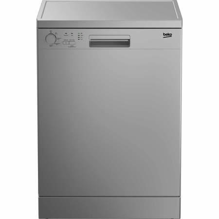 Beko DFC04210S 12 Place Freestanding Dishwasher Silver