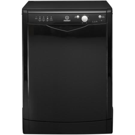 The Indesit DFG15B1K 13 Place Freestanding Dishwasher – Black