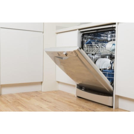 Indesit DFG15B1S 13 Place Freestanding Dishwasher - Silver