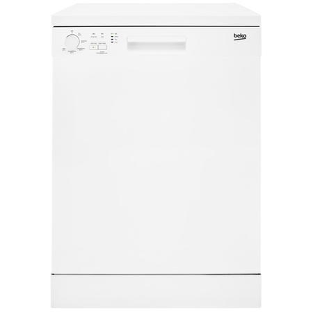 Beko DFN05310W 13 Place Freestanding Dishwasher With Quick Wash - White
