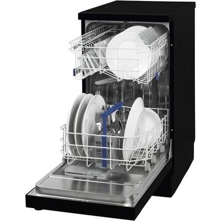 Beko DFS05010B 10 Place Slimline Freestanding Dishwasher - Black