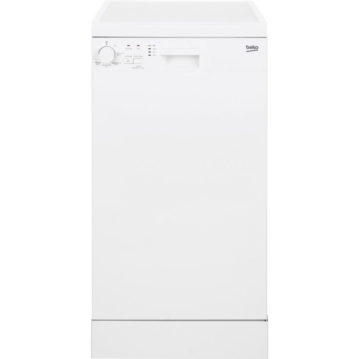 a83e9723cbe Beko DFS05010W 10 Place Slimline Freestanding Dishwasher - White DFS05010W