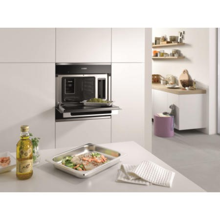 Miele DG6100clst DG 6100 38 Litre Built-in Steam Oven With EasySensor Controls - CleanSteel