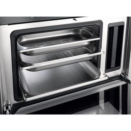 Miele DG 6300 DG6300clst 38 Litre Built-in Single Steam Oven With MultiSteam Technology - Stainless Steel