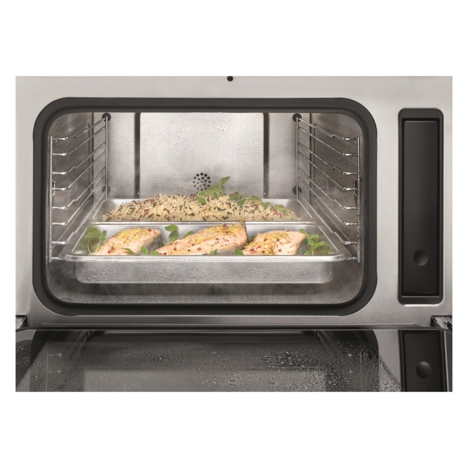 Miele Dg7140clst Built In Compact Height Steam Oven With