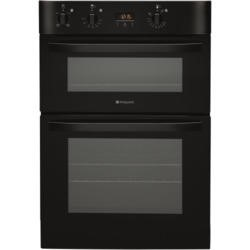 Hotpoint DH53KS NewStyle Ciculaire Electric Built In Double Oven Black