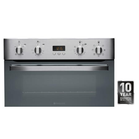 Hotpoint DH93CXS NewStyle Multifunction Electric Built-in Double Oven Stainless Steel