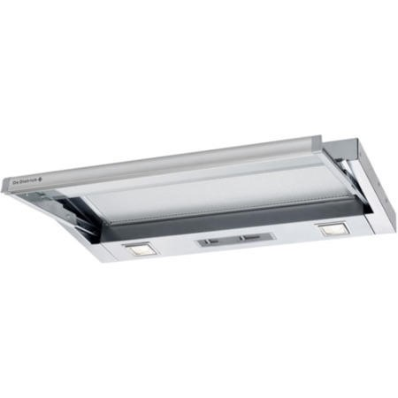 De Dietrich DHT1119X 90cm Wide Fully Telescopic Integrated Cooker Hood